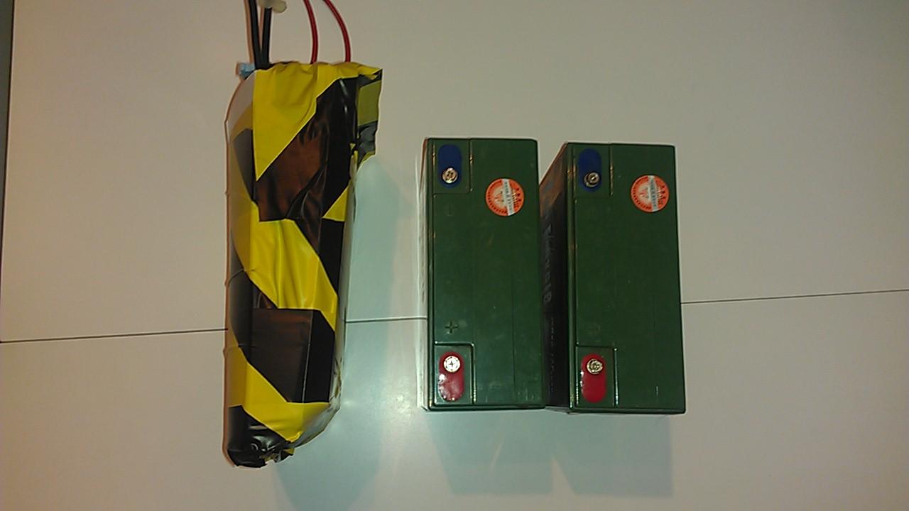 Projet Batterie 24 Volt de remplacement pour Quadriporteur NON-SLA IMAG0102